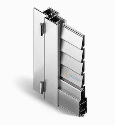 Persiana Alluminio Quadra 90