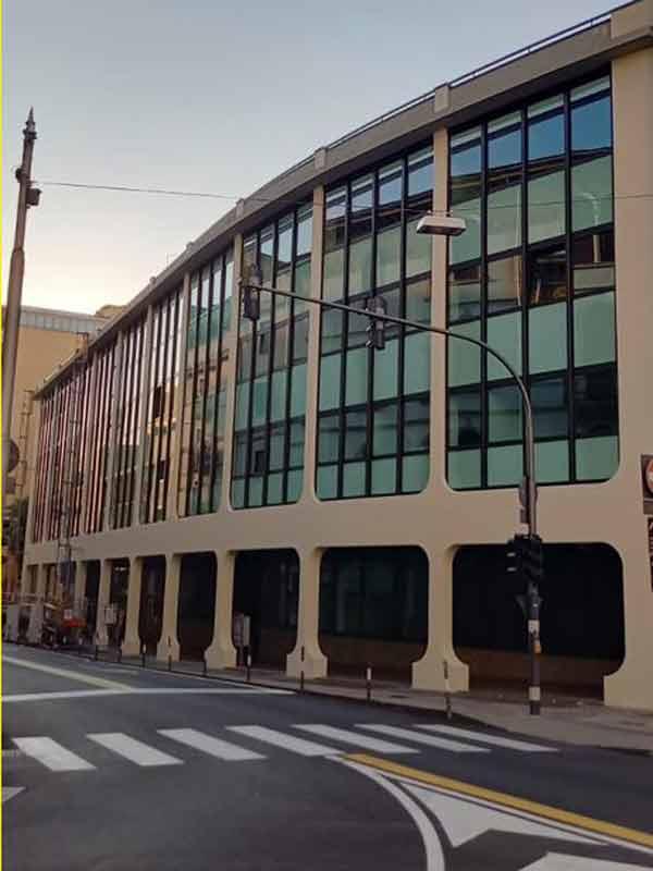 Padova - Azienda Zero - Profilo Schüco aws 75